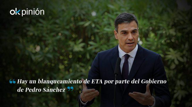 Sánchez es presidente por el brazo político de ETA