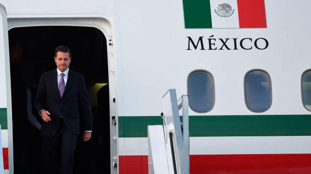 Enrique Peña Nieto, ex presidente de México. Foto: AFP