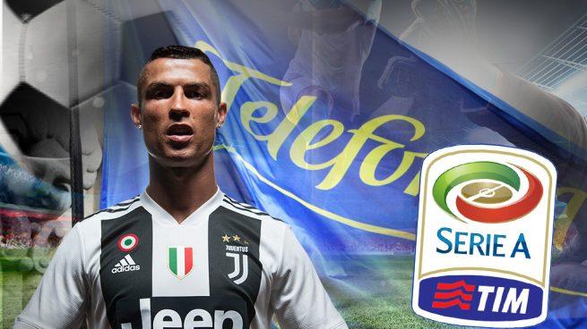 Telefónica se interesa por la Serie A italiana pero sólo moverá ficha si hay rentabilidad