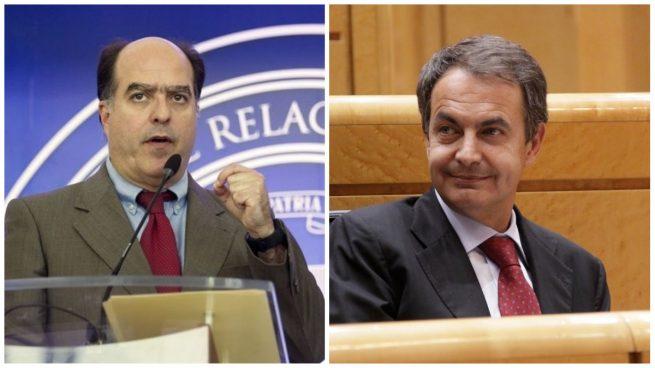 Julio Borges acusa a Zapatero de haberle amenazado con la cárcel por no plegarse a un acuerdo con Maduro