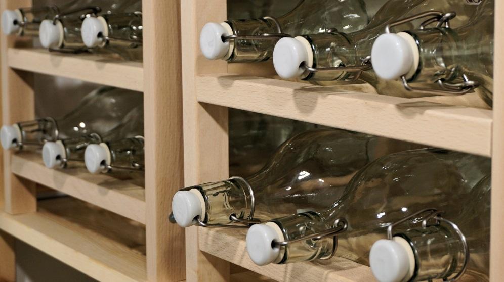 Cómo hacer un botellero casero