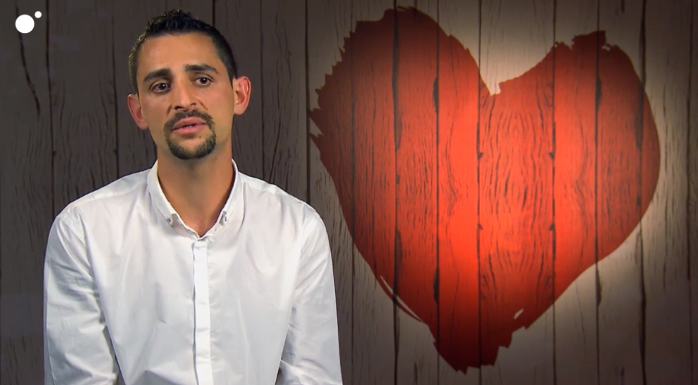 Álvaro en 'First Dates'