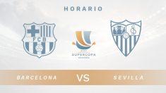 Barcelona – Sevilla | partido de la Supercopa de España