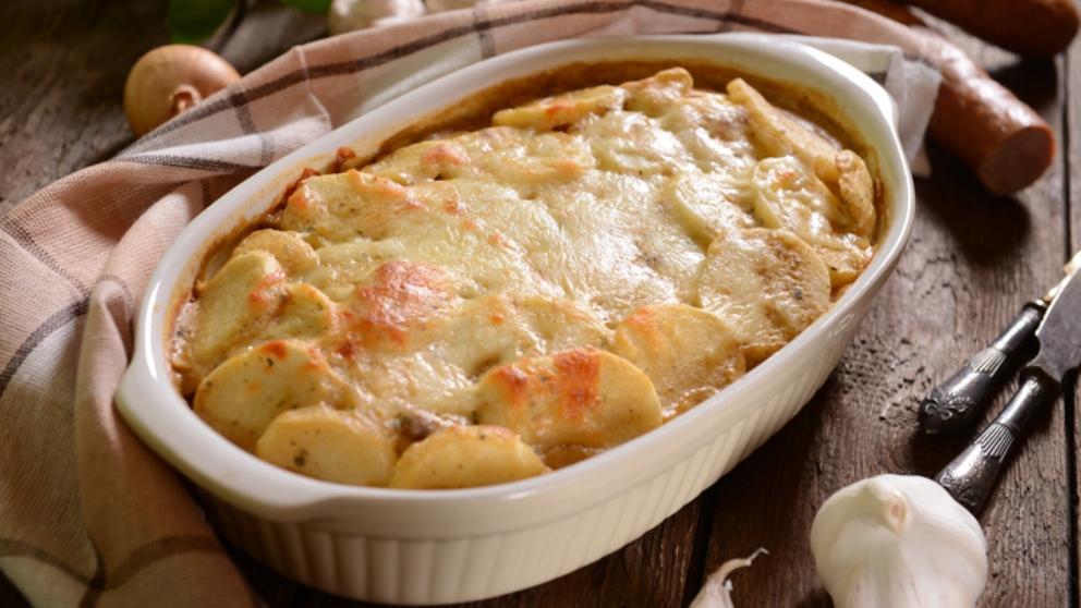 Receta de patatas con nata, un plato sencillo, vistoso y delicioso