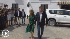 Sánchez y Mérkel son recibidos con abucheos en Sanlúcar de Barrameda