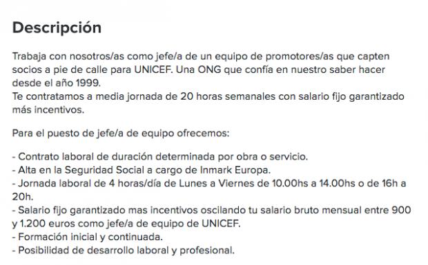 """Así capta la empresa de Begoña Gómez a sus empleados precarios: """"Si traes un amigo te damos 50€"""""""