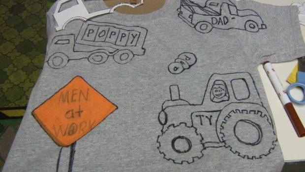 pintar camisetas con rotuladores