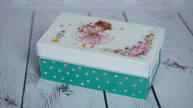 decorar cajas de zapatos