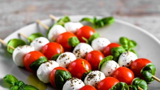 Ensalada de tomate y mozzarella