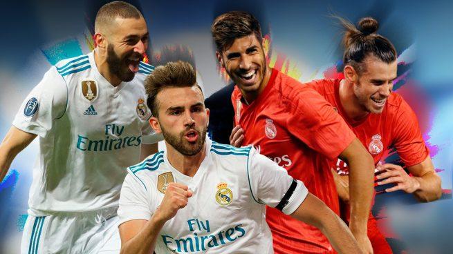 El gol en el Real Madrid es cosa de cuatro