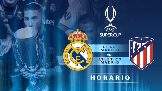 d21d28d1211fe El partido que enfrenta al Real Madrid contra el Atlético de Madrid en la Supercopa  de Europa será el miércoles 15 de agosto a las 21 00