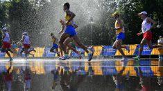 Una imagen de la prueba de maratón de los Europeos de Berlín. (AFP)