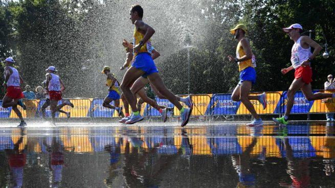 España, plata por equipos en maratón masculino y el bronce en femenino