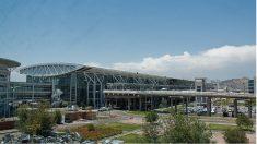 Aeropuerto de Santiago de Compostela.