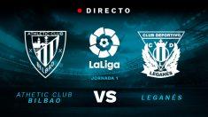 Athletic de Bilbao – Leganés: en directo partido de la Liga Santander.