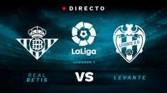 Liga Santander: Betis – Levante   Partido de fútbol hoy en directo