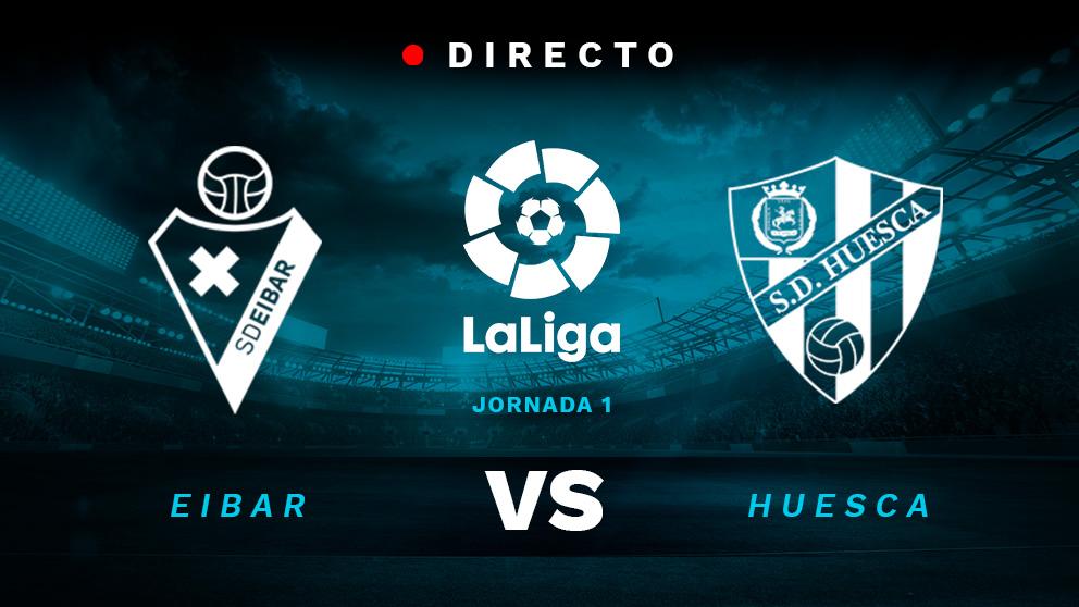 Eibar – Huesca: partido de la Liga Santander en directo