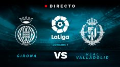 Liga Santander: Girona – Valladolid   Partido de fútbol hoy en directo