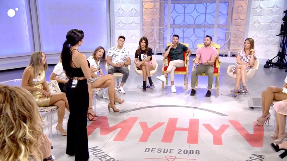 Jaime y Eleazar han tenido hoy trabajo en 'MYHYV'
