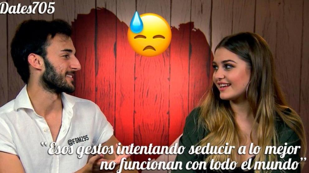 Fernando no ha conseguido conquistar a Bea en 'First Dates'