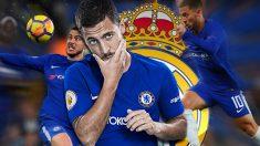 Eden Hazard ha vuelto a dejar entrever su posibilidad de fichar por el Real Madrid.