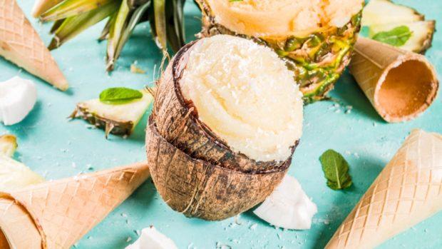 Receta de los mejores 5 helados saludables para el verano 2018