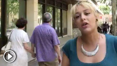 Mellisa Domínguez, líder del colectivo ultraderechista Hogar Social Madrid