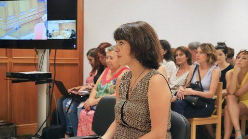 Juana Rivas, durante su juicio por sustracción de menores. (EP)