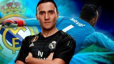 Keylor Navas amplía su contrato con el Real Madrid hasta 2021.