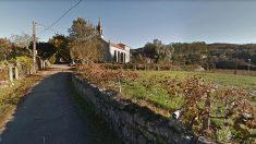 Parroquia de Malva, en Tui (Pontevedra), donde se produjo el suceso.