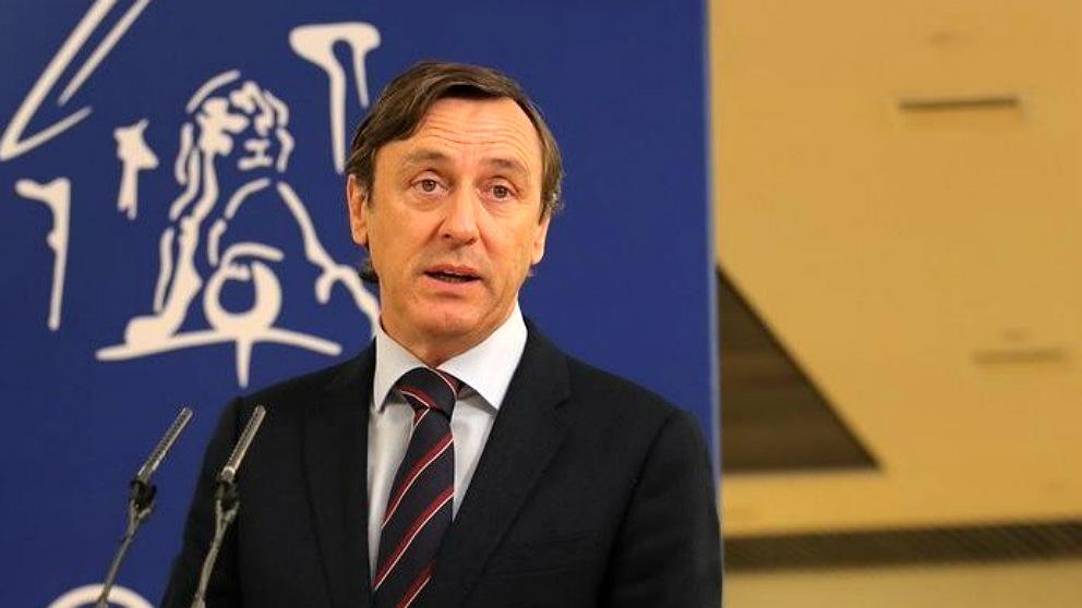 Rafael Hernando, portavoz parlamentario del PP. (EP)