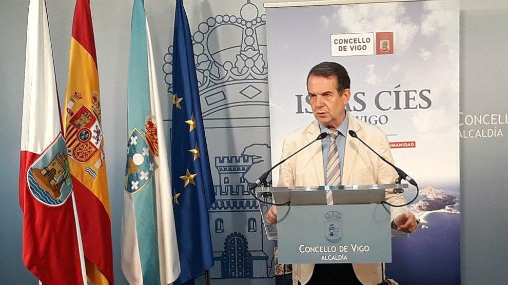 Abel Caballero, alcalde de Vigo. (EP)