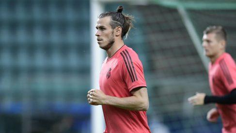 Gareth Bale deberá asumir su nuevo rol de líder ante el Atlético, en la Supercopa (ÂFP).