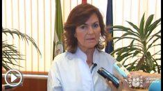 Carmen Calvo, vicepresidenta del Gobierno.