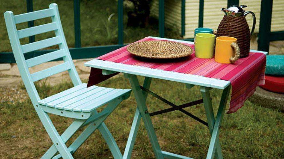 Aprende cómo hacer una mesa plegable