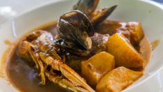 Receta de congrio con mejillones, un plato de pescado de lujo
