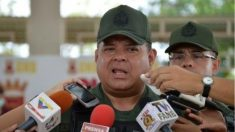 El general Alejandro Pérez Gámez, detenido en Venezuela por su supuesta implicación en el presunto atentado contra Nicolás Maduro.