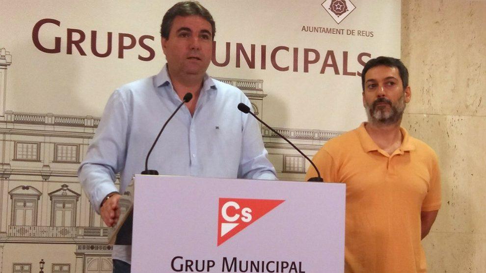 Juan Carlos Sánchez, portavoz de Ciudadanos en el Ayuntamiento de Reus. (EP)