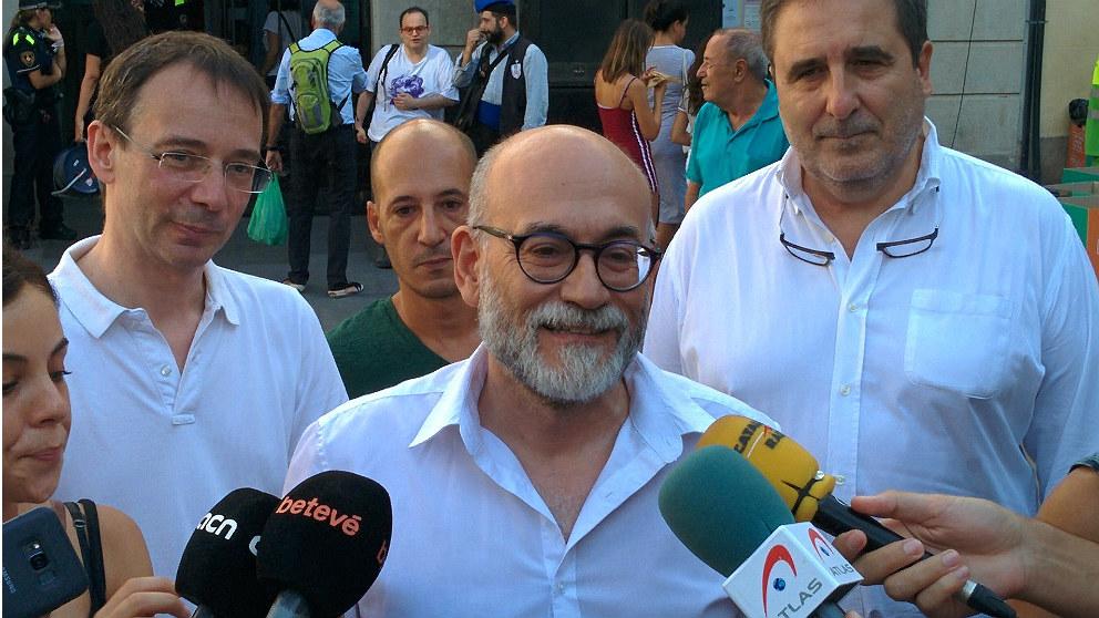 Koldo Blanco, concejal de Ciudadanos en el Ayuntamiento de Barcelona. (EP)