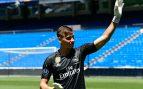 El 'calvario' de Lunin: solo jugaba la Copa pero ante el Madrid no podrá estar