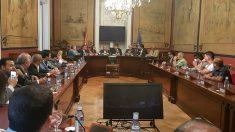 Reunión del PP en el Senado con representantes de la oposición democrática de Venezuela. (EP)