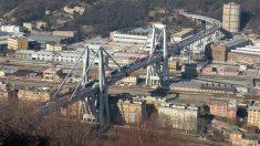 El Puente Morandi de Génova fue inaugurado en 1967.