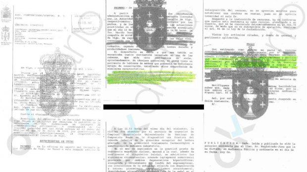 Extracto de la sentencia condenatoria al Ayuntamiento de Vigo en 2013.