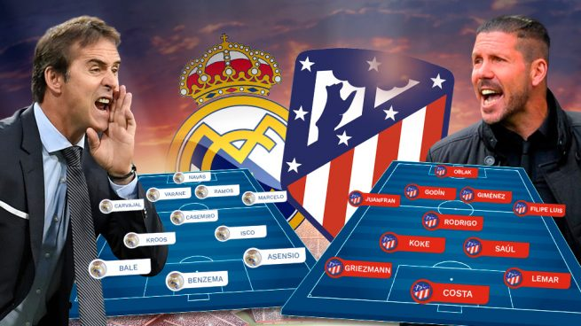 Real Madrid Vs Atlético: Superderbi