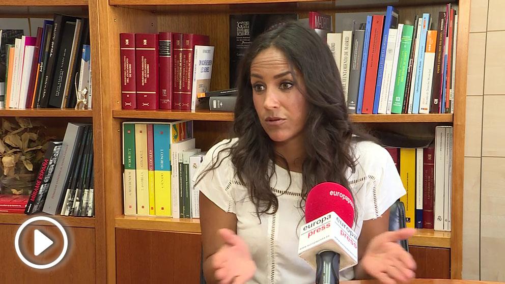 Begoña Villacís, portavoz de C's en el Ayuntamiento de Madrid. (EP)