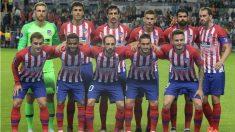 Diego Costa fue el mejor jugador del Atlético en la victoria contra el Madrid. (AFP)