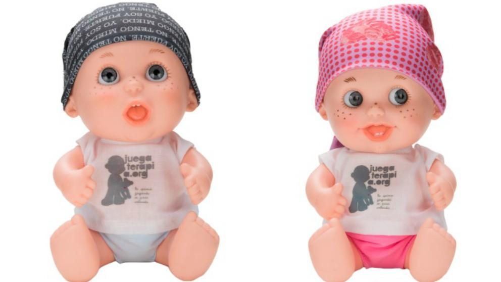 Niña enferma de cáncer diseña el pañuelo de uno de los solidarios Baby Pelones