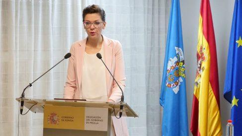 Sabrina Moh, delegada del Gobierno en Melilla. (EP)