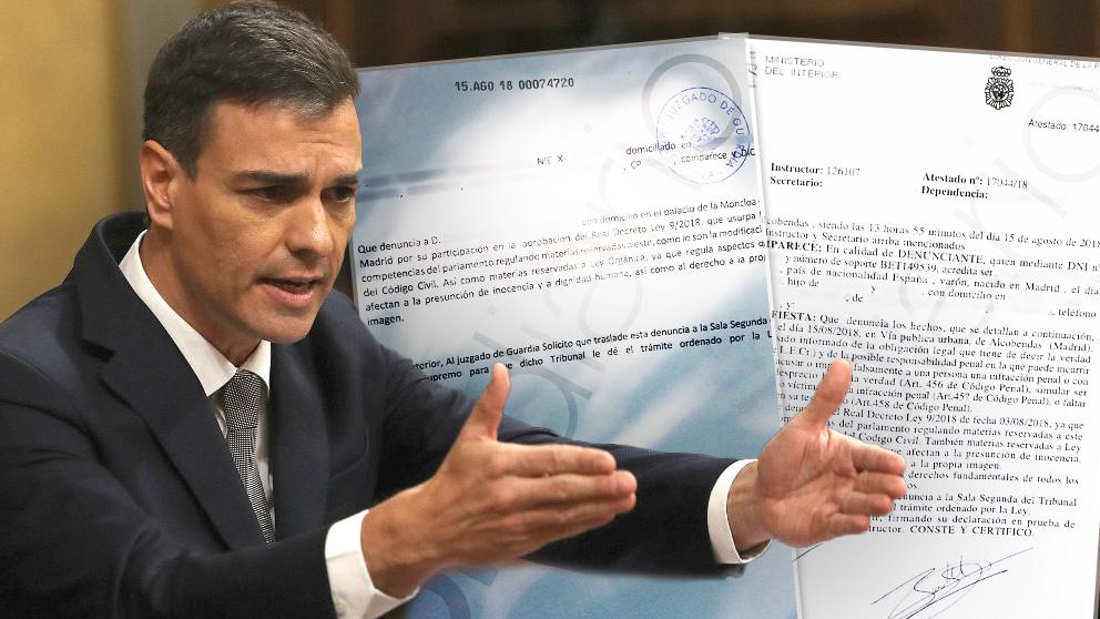 Sánchez denuncias decretazo patria potestad
