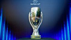 Trofeo de la Supercopa de Europa.